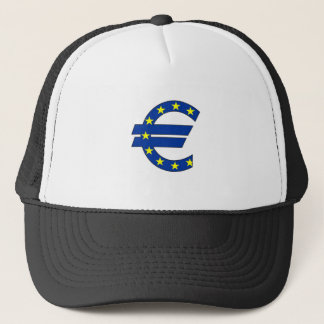 euro currency symbol money sign trucker hat