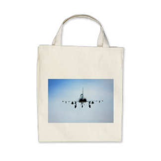 Euro Fighter heat Tote Bags