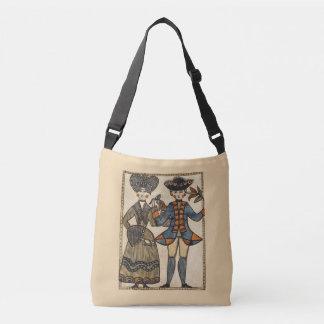 Euro Folk Art Cross Body Bag