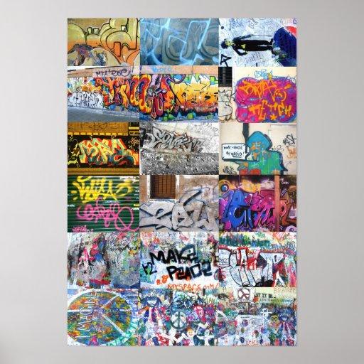 Euro Street Art Print