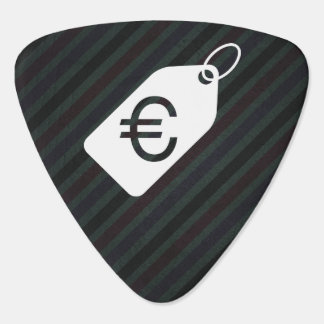 Euro Tags Sign Plectrum