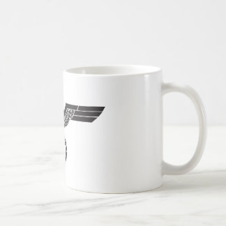 Euro trash coffee mug