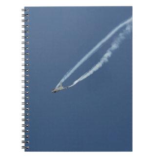Eurofighter Typhoon flight 3 Spiral Notebook