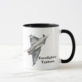 Eurofighter Typhoon with monogram Mug