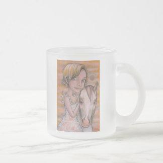 Europa and Snowflake Coffee Mug