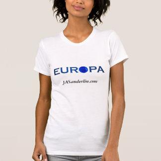 Europa Blue Sun Tshirt