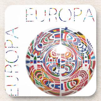 Europa ! beverage coasters