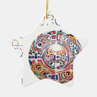 Europa ! christmas tree ornament