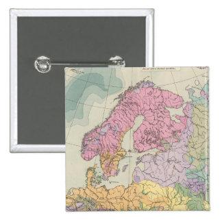 Europa - Geologic Map of Europe Pin