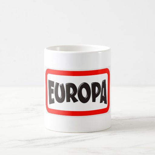 Europa Graffiti Coffee Mug