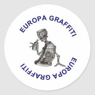 Europa graffiti sticker