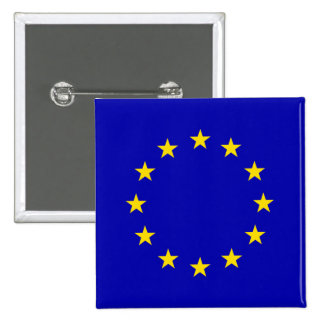 Europa High quality Flag Buttons
