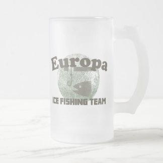 Europa Ice Fishing Team Coffee Mugs