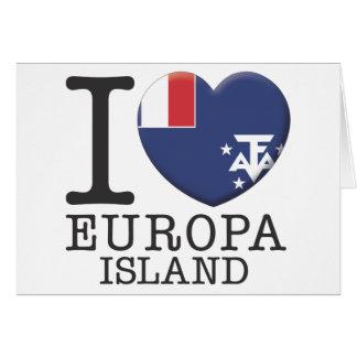 Europa Island Cards