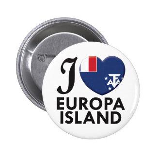 Europa Island Love Buttons