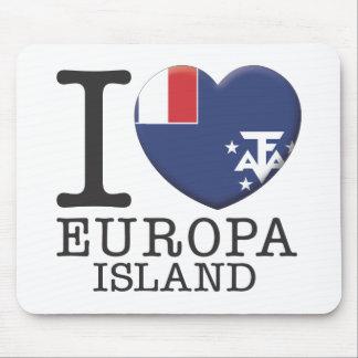 Europa Island Mousepad