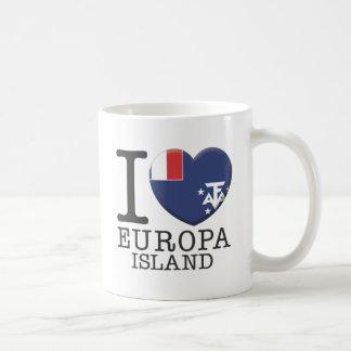 Europa Island Coffee Mug