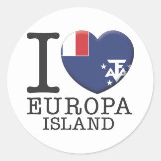 Europa Island Stickers