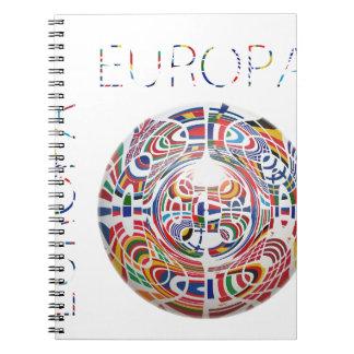 Europa ! note books