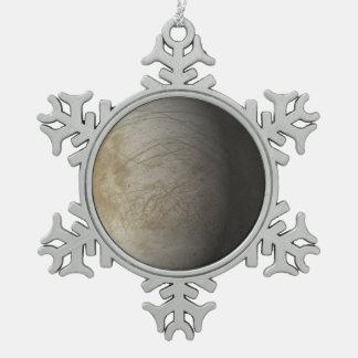 Europa Pewter Snowflake Decoration