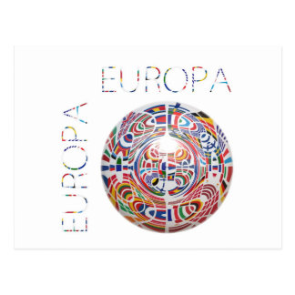 Europa Postcard