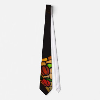 EUROPA  STAINED GLASS PICTUROUS  TIE..1940'S TIE