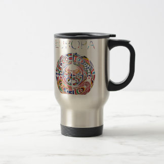 Europa ! stainless steel travel mug