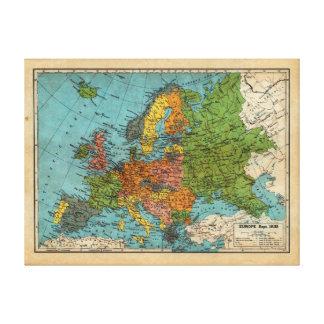 Europe, 1938 canvas print
