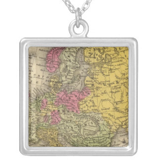 Europe 9 silver plated necklace