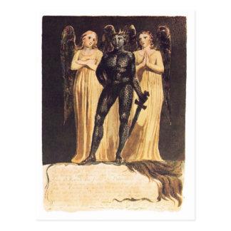 Europe. A Prophecy. William Blake Postcard