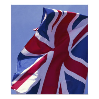 Europe, England, British flag Photograph