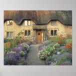 Europe, England, Chippenham. Early morning light Poster