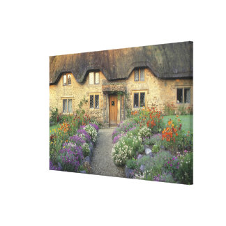 Europe, England, Chippenham. Early morning light Stretched Canvas Prints