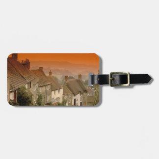 Europe, England, Dorset, Shaftesbury. Gold hill Luggage Tag