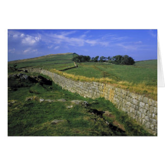Europe, England, Hadrian's Wall. The stones of Card