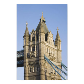 Europe ENGLAND, London: Tower Bridge / Late Photo Art