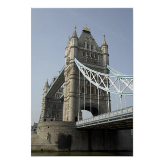 Europe, England, London. Tower Bridge over the Poster