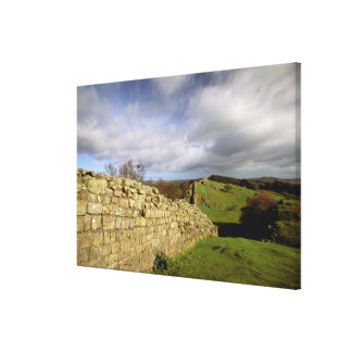 Europe, England, Northumberland. Hadrian's Stretched Canvas Prints