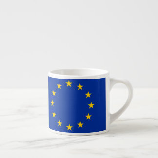 Europe flag espresso cup