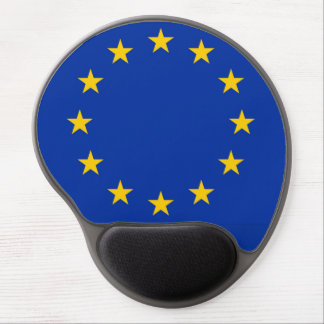 Europe flag gel mouse pad
