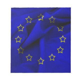 europe-flag notepad