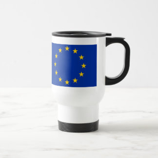 Europe flag travel mug