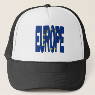 Europe + Flag Trucker Hat