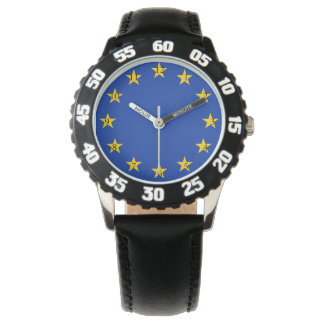 Europe flag watch
