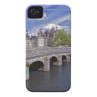 Europe, France, Chambord. A stone bridge leads Case-Mate iPhone 4 Cases
