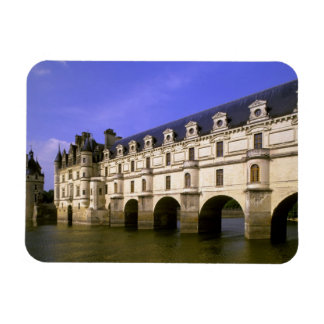 Europe, France, Loire Valley. Chateau Magnet