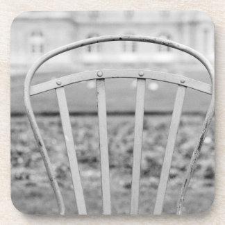Europe, France, Paris. Chair, Jardin du Coaster