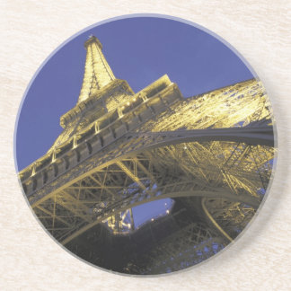 Europe, France, Paris, Eiffel Tower, evening 2 Coasters