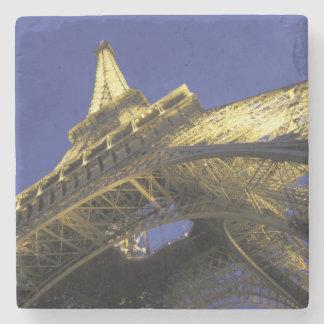 Europe, France, Paris, Eiffel Tower, evening 2 Stone Coaster