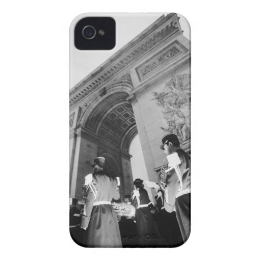 Europe, France, Paris. Military ceremony at the Blackberry Bold Cases